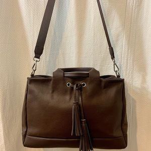 🍃GEOX large leather tote